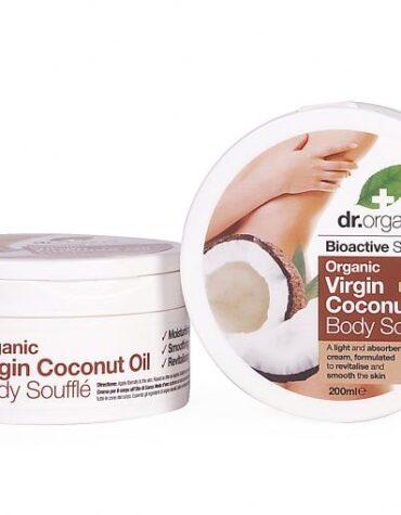 Cuidate con nuestros productos de línea corporal Suflé corporal de aceite de Coco Orgánico 200ml