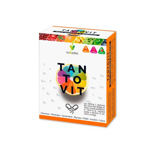 Cuidate con las vitaminas y minerales TANTOVIT 30 COMRPIMIDOS