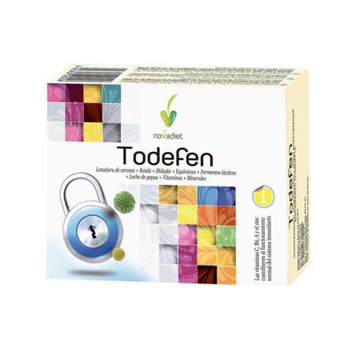 Rerfuerza tu sistema inmunológico TODEFEN 60 comp
