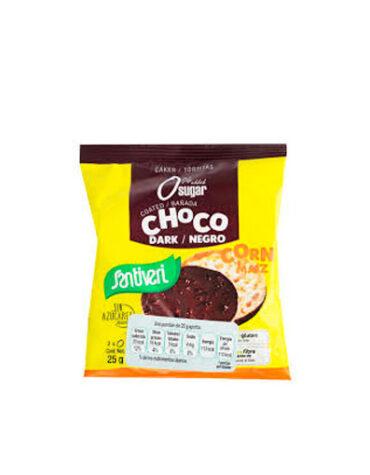 Descubre nuestros aperitivos y frutos secos TORTITAS DE MAIZ CHOCOLATE NEGRO S/A S/G 2UD