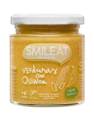 Cuida de los pequeños con nuestra alim infantil Tarrito de Verduras con Quinoa Ecologico (230g)