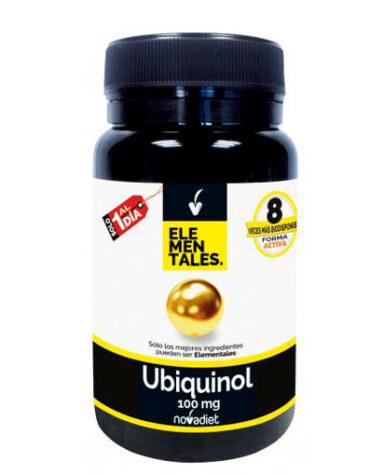 Cuidate con las vitaminas UBIQUINOL 100 mg 30 caps