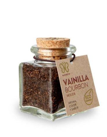 Descubre nuestras sales, condimentos y salsas VAINILLA EN RAMA MOLIDA BOURBON 10 GRS ECO