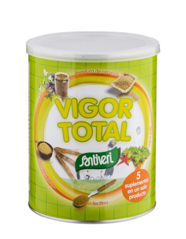 Carga las pilas con jaleas y energeticos VIGOR TOTAL 400 grs