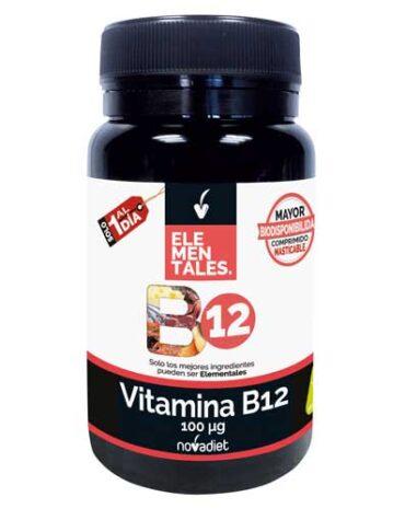 Cuidate con las vitaminas VITAMINA B12 100 µg 120 comp