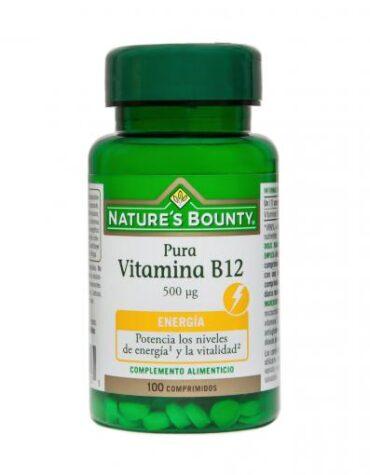 Cuidate con las vitaminas VITAMINA B12 500MG
