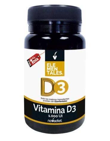 Cuidate con las vitaminas VITAMINA D3 1.000 UI 120 comp