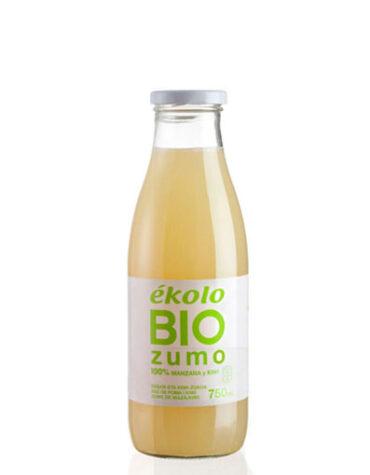 Descubre nuestras bebidas ZUMO DE MANZANA-KIWI BIO,100% EXPRIMIDO,750ML