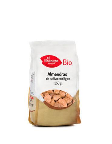 Descubre nuestros aperitivos y frutos secos ALMENDRAS BIO, 250 g