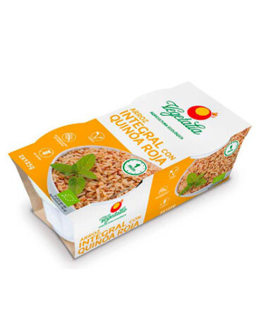Disfruta del arroz y pasta ARROZ INTEGRAL CON QUINOA ROJA 2uds x 125g BIO