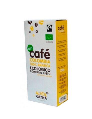 Pon tu punto dulce con azucar y endulzantes CAFE COLOMBIA MOLIDO BIO 250