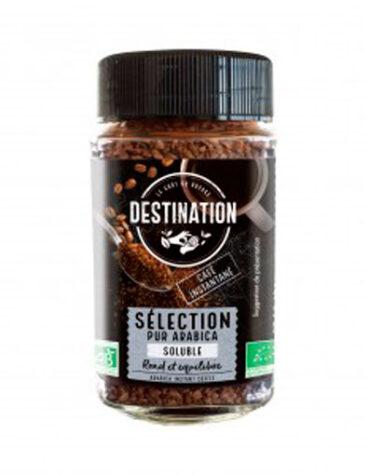 Disfruta de las bebidas solubles CAFE INSTANTANEO 100% ARABICA BIO, 100 g