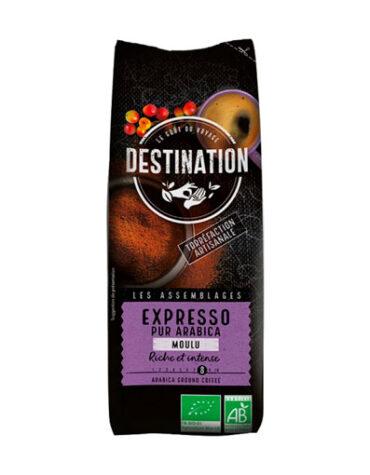 Disfruta de las bebidas solubles CAFE MOLIDO EXPRESO 100% ARABICA BIO 250G