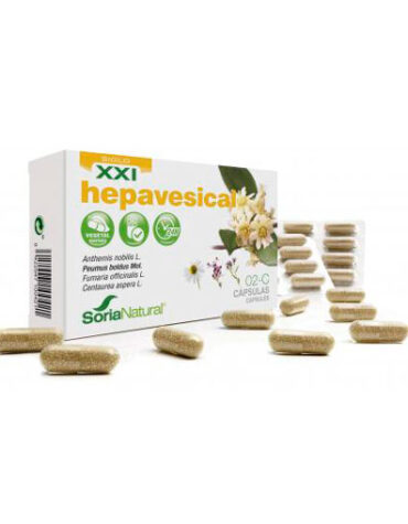 Seleccionamos las mejores plantas en comprimidos CAPS. 2C HEPAVESICAL LIBERACION PROLONGADA
