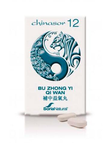 Ayuda a tu digestivo con nuestros digestivos CHINASOR 12 - BU ZHONG YI QI WAN 30 COMP