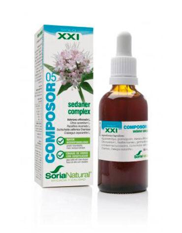 Seleccionamos las mejores extractos de plantas COMPOSOR 5 SEDANER COMPLEX SXXI