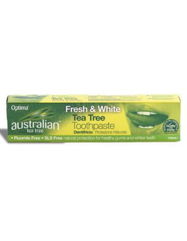 Cuidate con nuestros productos de higiene bucal DENTIFRICO CON ARBOL DE TE (ATT), 100 ml