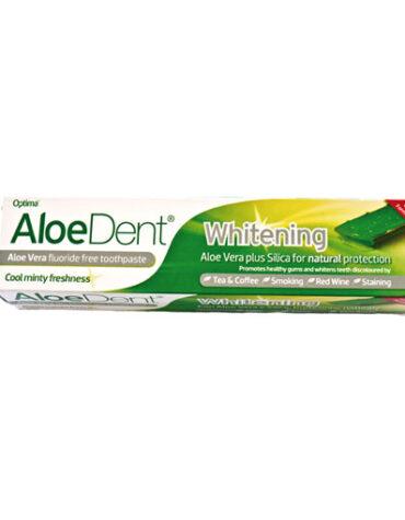Cuidate con nuestros productos de higiene bucal DENTÍFRICO BLANQUEADOR CON ALOE VERA , 100 ml