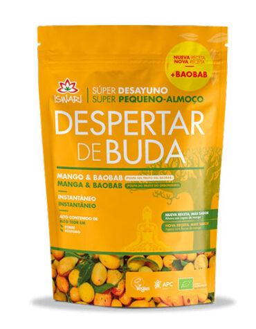 Descubre superalimentos DESAYUNO DESPERTAR DE BUDA MANGO Y BAOBAB ECO 360G