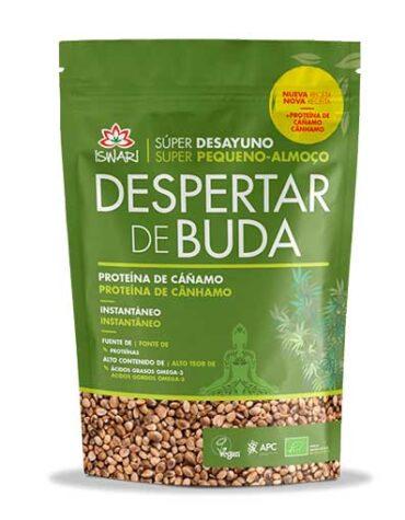 Descubre superalimentos DESAYUNO DESPERTAR DE BUDA PROTEINA CAÑAMO ECO 360GR