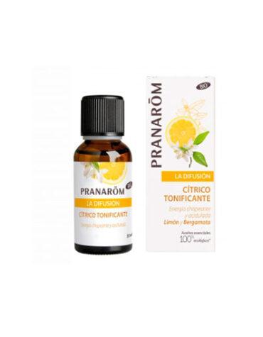 Usa y decora tu aromaterapia DIFUSIÓN CÍTRICO TONIFICANTE 30 ML