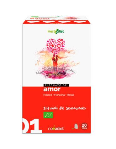 Seleccionamos las mejores plantas en filtro HERBODIET FLECHAZO DE AMOR 20 FILTROS