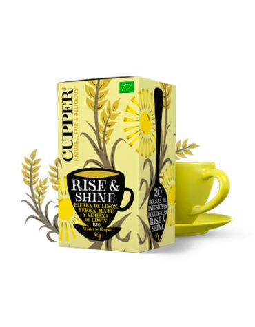 Seleccionamos las mejores plantas en filtro INFUSIÓN RISE&SHINE BIO, 20 BOLSAS