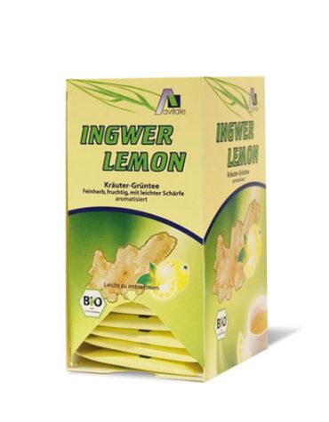 Seleccionamos las mejores plantas en filtro JENGIBRE LIMON INFUSION 20U. A