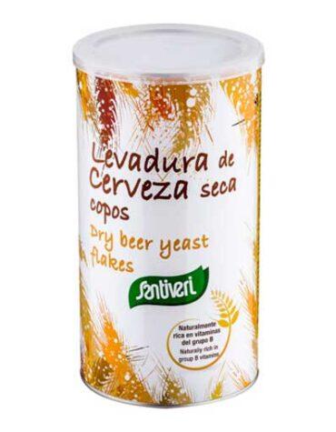 Cuidate con las vitaminas y minerales LEVADURA CERVEZA COPOS BOTE 200grs