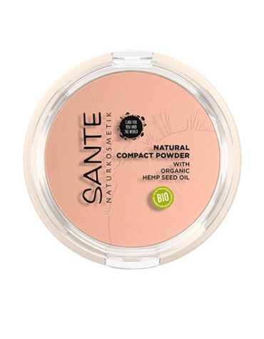 Cuidate con nuestro maquillaje MAQUILLAJE COMPACTO POLVO-CREMA 01 COOL IVORY 9 GRS BIO