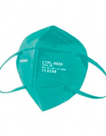 Cuidate con nuestros productos de sanitario MASCARILLA FFP2 CE TURQUESA