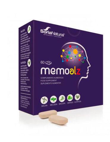 Relaja y controla tu sistema nervioso MEMOALZ 60 COMPRIMIDOS