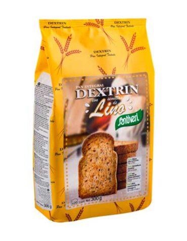 Disfruta de nuestro pan PAN DEXTRIN CON LINO 300grs