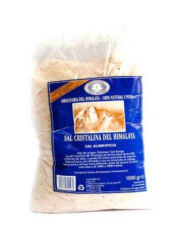 Descubre nuestras sales, condimentos y salsas SAL CRISTALINA DEL HIMALAYA MOLIDA BLANCA, 1 Kg