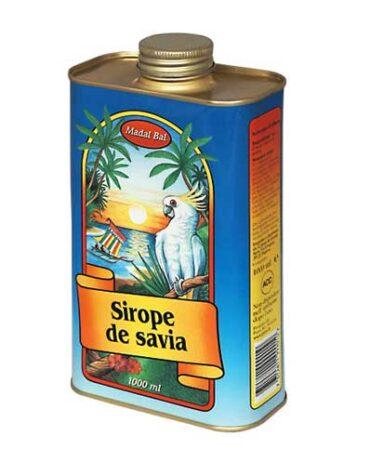Pon tu punto dulce con azucar y endulzantes SIROPE DE SAVIA, 1 L
