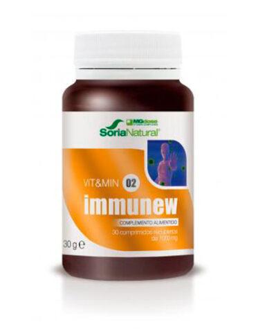 Rerfuerza tu sistema inmunológico VIT & MIN 02 IMMUNEW