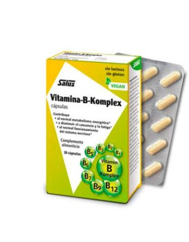 Cuidate con las vitaminas VITAMINA B-COMPLEX 30 CAPSULAS
