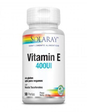 Cuidate con las vitaminas VITAMINA E 400 IU 50 PERLAS