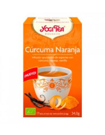 Seleccionamos las mejores plantas en filtro YOGI TEA CURCUMA NARANJA 17 FILTROS