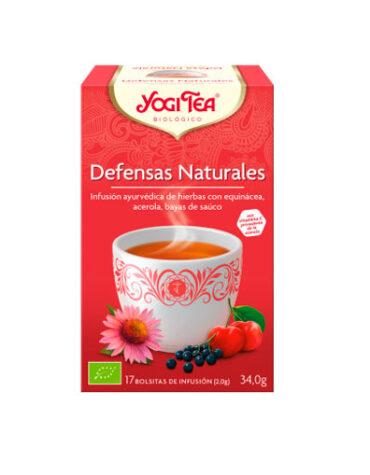 Seleccionamos las mejores plantas en filtro YOGI TEA DEFENSAS NATURALES