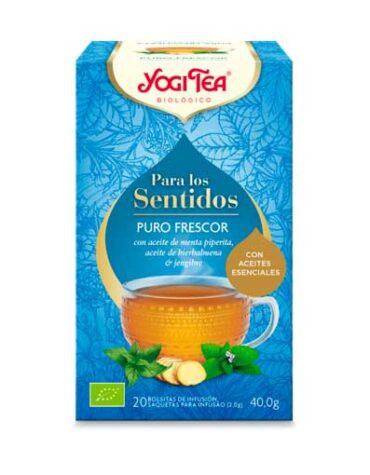 Seleccionamos las mejores plantas en filtro YOGI TEA SENTIDOS PURO FRESCOR 20 filtros