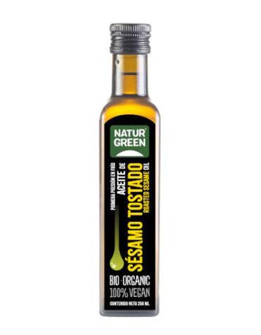 Descubre nuestras aceites y vinagres ACEITE DE SESAMO TOSTADO BIO 250 ML