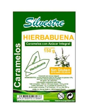 Endulzate con los caramelos y gominolas CARAMELOS DE HIERBABUENA 150grs