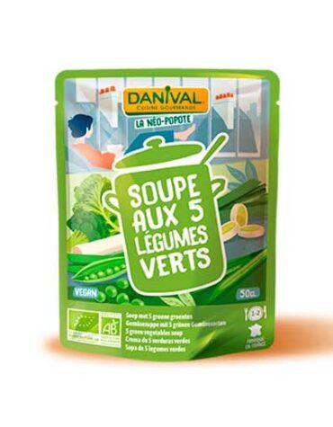 Descubre nuestras legumbres y verduras desecadas CREMA DE 5 LEGUMBRES BIO, 50 cl|t