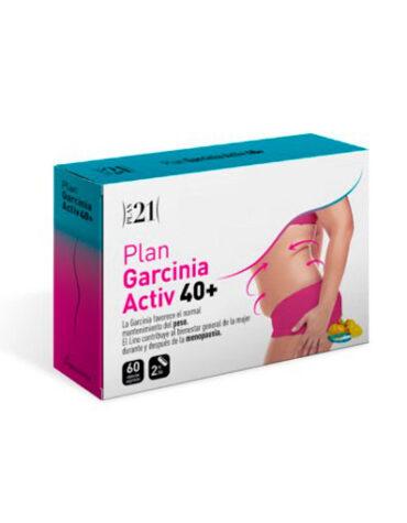 Para ayudar con el control de peso GARCINIA ACTIV 40+60 CAPS