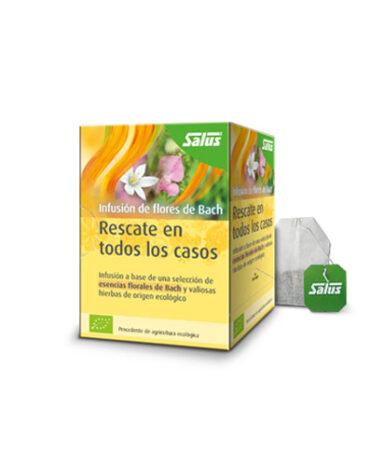 Seleccionamos las mejores plantas en filtro INFUSION FLORES BACH RESCATE