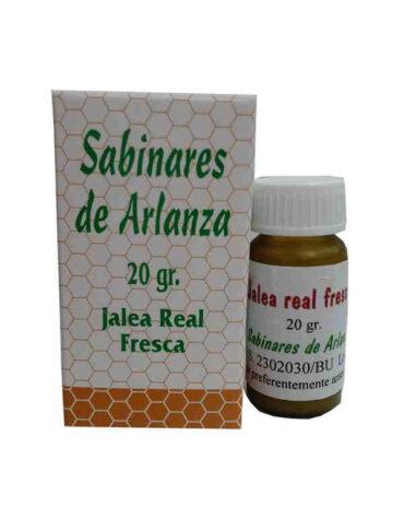 Descubre nuestra miel y polen JALEA FRESCA SABINARES 20GR