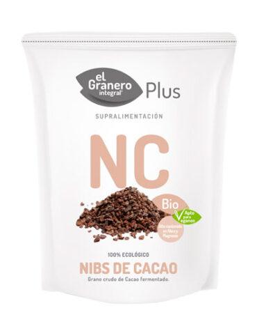 Descubre superalimentos NIBS DE CACAO BIO, 200 g