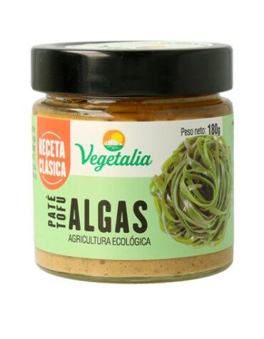 Disfruta de los patés y carnes vegetales PATE TOFU DE ALGAS BIO 180G