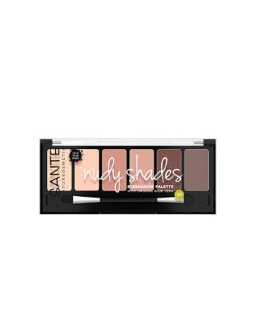 Cuidate con nuestro maquillaje SOMBRA OJOS PALETA 6 COLORES ROSY SHADES BIO